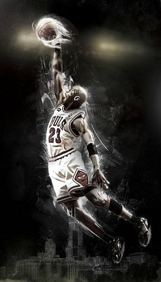 Michael Jordan...only the greatest basketball player ever!