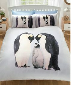 Penguin duvet  Single, double, king