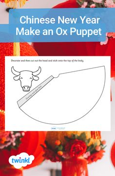 Get creative this Chinese New Year with this papercraft! Simple and effective, this Year of the Ox cone puppet is the perfect activity to do both at home or in the classroom. Visit the Twinkl website to download and find more Chinese New Year themed crafts for kids! #craftsforkids #chinesenewyear #yearoftheox #cny #papercrafts #conecraft #remotelearning #teaching #teachingresources #twinkl #twinklresources #parents #homeschooling #homeeducation #mindfulness Make Your Own, How To Make, Activities To Do, Chinese New Year, Ox, Puppets, Teaching Resources, Festivals, Homeschooling