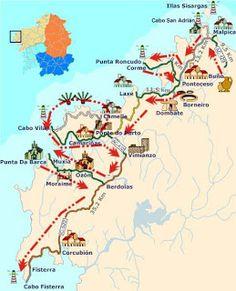 Ruta por la Coruña y Galicia. Contada por un gallego