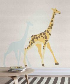 Kids Room Wallpaper, Window Coverings, Designer Wallpaper, Giraffe, Baby Kids, Studio, Don't Forget, Animals, Website