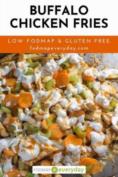 Buffalo Chicken Fries, Fried Chicken, Best Gluten Free Recipes, Great Recipes, Food Map Diet, Crispy French Fries, Fodmap Recipes, Low Fodmap, Ibs