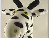 Grátis Handmade envio Sock Girafa bicho de pelúcia boneca brinquedos