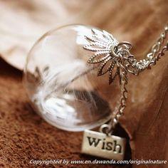 Dandelion Seeds,Dandelion Necklaces Jewelry