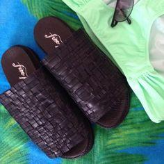Free People Sandals NIB Amazing comfortable slip-on sandals. Free People Shoes Sandals