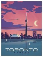 Vintage Poster Toronto, CANADA (I was here without Bob when I was sent on business by the engineering company I worked for in Salt Lake City.) - Browse all products in the Travel Posters category from IdeaStorm Studio Store. Pin Ups Vintage, Photo Vintage, Vintage Style, Poster City, Poster On, Tourism Poster, Kunst Poster, Travel Illustration, Technical Illustration