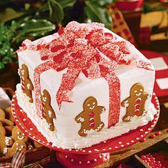Gift Box Cake | MyRecipes.com