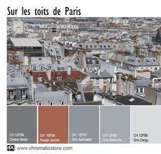 Retrouvez toute l'offre couleur du nuancier CHROMATIC® FACADE sur www.chromaticstore.com #inspiration #peinture #extérieur