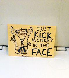 """Mensagens motivacionais do Peppy em trem """"Apenas dê uma voadeira na segunda-feira!"""""""