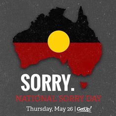 """(Loc) Posted on May 26 2016 at 10:11PM: National Sorry Day is an annual event that has been held in Australia on 26 May since 1998 to remember and commemorate the mistreatment of the country's indigenous population. During the 20th century Australian governments' policies resulted in a """"Stolen Generation""""i.e. """"Aboriginal children separated often forcibly from their families in the interest of turning them into white Australians"""".[1]  The date 26 May carries great significance for the Stolen…"""