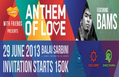 Jual Tiket Konser HARVEST Anthem Of Love 2013 - www.tarratix.com