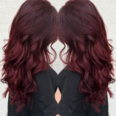Ruby red hair!