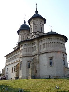 The Church of the Cetatuia Monastery - Iasi, Romania