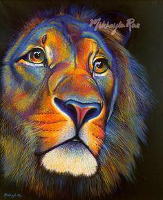 'Pride' - Acrylic on canvas Original artwork by Mikhayla Rae