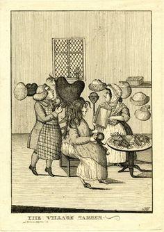 The Village Barber, 1778, British Museum, J,5.121