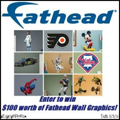 Fathead FOR REAL – Review and Giveaway  Ends 5/5/14