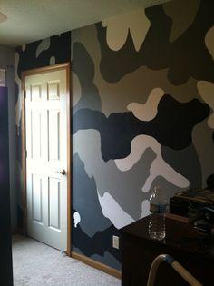 Outdoor Camo Room Boys Room Designs Decorating Ideas HGTV - Camo bedroom decorating ideas