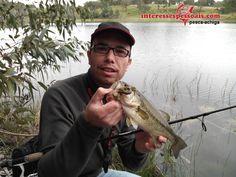 Pescar ao achigã com split-shot