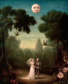 La Danse Macabre, Arte Lowbrow, Arte Peculiar, Mark Ryden, Arte Obscura, Design Graphique, Moon Art, Pics Art, Art Design