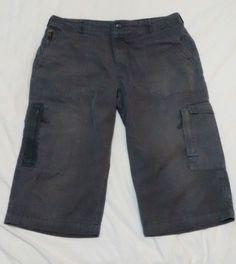 Marks & Spencer Men's Shorts W38 Grey Cargo Combat Pockets | eBay
