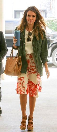 The OAK: Modest Hollywood: @Jessica Alba