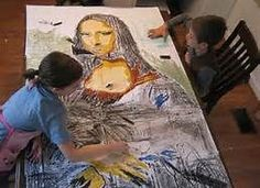 mona lisa art projects for kids - Bing Images
