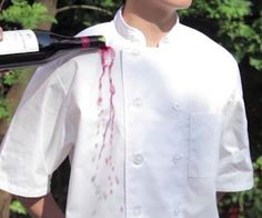 Keep your ensemble looking pristine as you slave over a hot stove with the stain-proof chef's jacket. This long lasting garment is made using a specialized hydrophobic nanotechnology designed to repel water and stains so it can stay cleaner for longer.