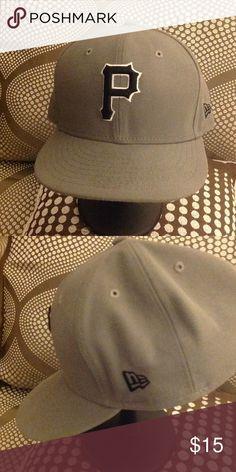 New Era Cap NLB Pittsburgh Pirates Baseball Cap. 59Fifty Accessories Hats