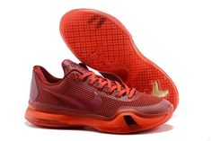 2015 Nikes Zoom Kobe X (10) EM XDR men basketball shoes chinese red