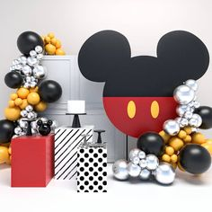 Baby Boy Birthday Themes, Fiesta Mickey Mouse, Minnie Mouse Birthday Decorations, Mickey Mouse Clubhouse Birthday Party, Mickey Party, Minnie Mouse Party, Fun Party Themes, Photo Credit, Instagram