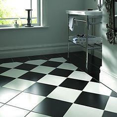 Wickes Geneva White Satin Ceramic Floor Tile 330x330mm | Wickes.co.uk