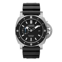 Panerai Luminor Submersible 1950 Amagnetic 3 Days Automatic Titanio - The Panerai Luminor Submersible 1950 Amagnetic 3 Days Automatic Titanio (PAM01389) is an updated version of the 2012 model - Your Watch Hub