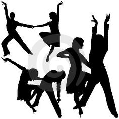 salsa dance clip art