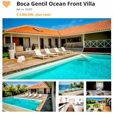 #curacao #villa #townhouse #houseforsale  Boca gentil Ocean Front Villa  Visit http://orange-real.estate to see our other Villa's and Townhouses for Sale in Sunny Curacao.