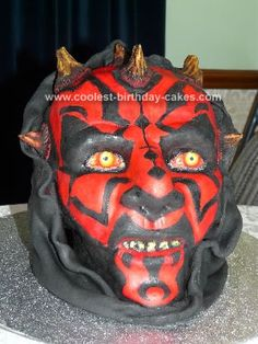 Cael says he wants a Darth Maul cake for his birthday this year.