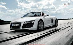 awesome audi r8 spyder blue car images hd Audi R8 Spyder White Wallpaper Hd  7110 Wallpaper awshdwallpapers