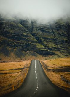 ***Road to the mountains (Iceland) by Daniel Bosma E