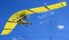 Patrol Ultralight Aircraft by Kate Dekhtyarenko