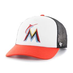 efb3b320fb2 Miami Marlins Glimmer Captain Cf Black 47 Brand Womens Hat