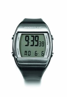 Sportline Solo 925 Heart Rate Watch Plus Pedometer To Accurately Track Steps And Distance * Click image for more details-affiliate link. #HeartRate Watches