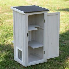 Precision Boomer & George Nantucket Outdoor Cat Home - Cat Houses at Hayneedle