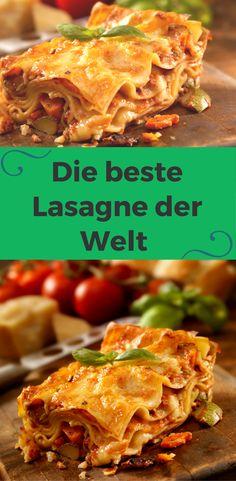Diese Lasagne Bolognese duftet nicht nur verlockend, ihr Geschmack ist ebenso köstlich. Holen Sie sich mit unserem Rezept die weltbeste Lasagne nach Hause!