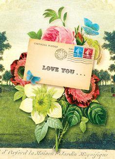 Cartolina - Cartolina card - Love You... CC226