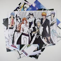 These high quality and detailed Bleach Posters would spice up the room of any anime lover! As a package of 8, these posters are great value and perfect as gifts for friends or as room wall decor! Note