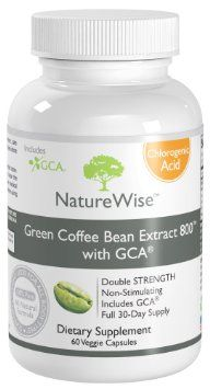 NatureWise Green Coffee Bean Extract 800 with GCA Natural Weight Loss Supplement, 60 Count --- http://www.amazon.com/NatureWise-Coffee-Extract-Natural-Supplement/dp/B009VUZJTM/?tag=aoneglobal-20