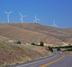 Road Trip 2012 : chrispoullos.com  Windmills From HWY 14