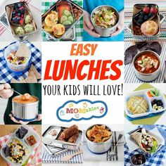 Healthy school lunch recipes, thermos lunches, healthy snacks, and no-bake recipes delivered each week. Also, a free sample meal plan for family friendly food.