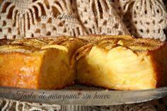 El dulce paladar: Tarta de manzanas sin huevo
