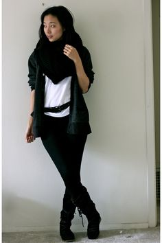 i love black too much.