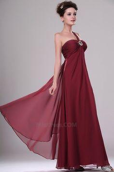 Maçã Sem magas Longo Zipper nas costas Corpete plissado Elegante & Luxo Vestido de noite - Página 3